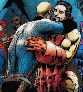 Iron Man Cap Hug