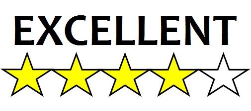 4 Stars Excellent